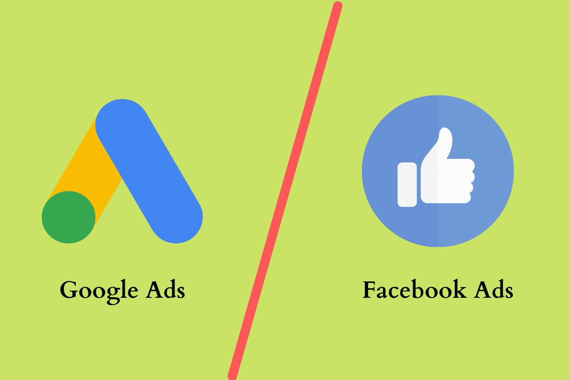 Google Ads vs FB Ads